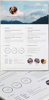 111 best cv template images on pinterest resume cv cv template