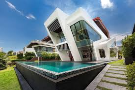 ultramodern mistral villa in singapore designed by mercurio design