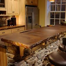 Kitchen Stone Backsplash by Best 25 Stone Kitchen Island Ideas Only On Pinterest Stone Bar