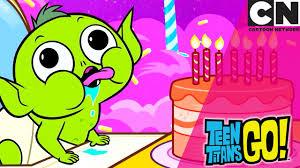 teen titans beast baby cartoon network