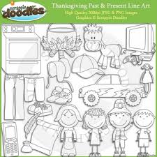 thanksgiving past present by scrappin doodles tpt