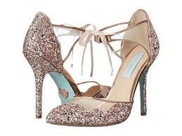 betsey johnson blue wedding shoes blue by betsey johnson s shoes
