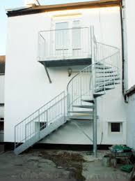 bespoke spiral staircase barnstaple in steel case study details