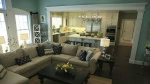 Kitchen Living Room Open Floor Plan Paint Colors Open Floor Plan Different Level Ceilings In Kitchen To Living