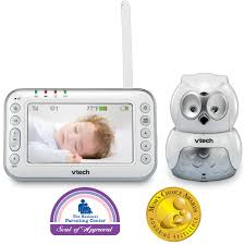 baby monitor pan u0026 tilt full color video monitor vm344 vtech