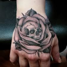 hand tattoo skull danielhuscroft com