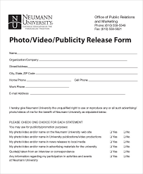 photo release form video copyright release form template release