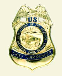 Department Of The Interior National Park Service Badges And Uniform Ornamentation Of The National Park Service Badges