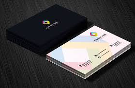 Best Visiting Card Designs Psd Professional Business Card Design Template Free