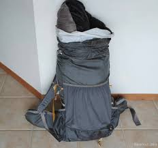 Garbage Compactor Bags Efficiently Pack For An Overnight Hike