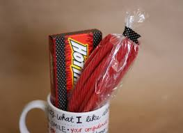 gift mugs with candy diy sharpie mug gift my s suitcase packed