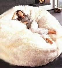 Fluffy Armchair Furry Bean Bags Foter