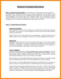 good objective statements for resume how to write a good