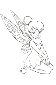tinkerbell coloring pages overview lot fairies