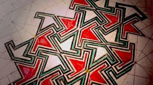 Moorish Design How To Draw Geometric Patterns Moorish Wedge Tiling Youtube