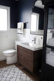 Ikea Bathrooms Ideas A Half Bath Refresh Ikea Vanity Linen Cabinets And Vanities