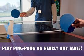 ping pong vs table tennis table tennis to go play ping pong on nearly any table