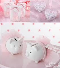 piggy bank party favors a tutu birthday party from kate aspen candy bags favors