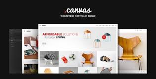 theme furniture canvas interior furniture portfolio wp theme by gt3themes