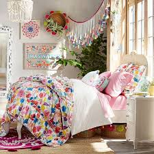 Teen Floral Bedding Lilac Bed Pbteen
