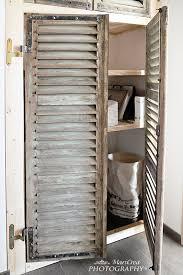 Shutter Doors For Closet 18 Closet Door Makeovers That Ll Give You Closet Envy