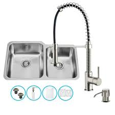 stages undermount stainless steel 45 in single basin kitchen sink