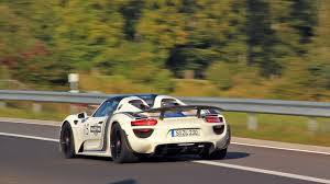 porsche 918 spyder fast fly by on the nurburgring youtube