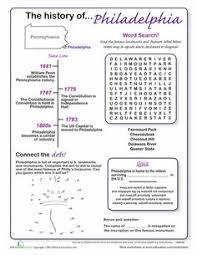pennsylvania homeschool worksheet google search geography