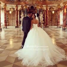 vestidos de noiva ivory tulle ball gown wedding dresses sweetheart