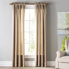 Curtains For Dining Room Formal Dining Room Curtains Wayfair