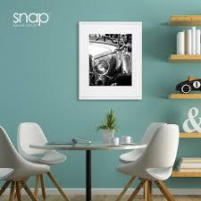 amazon com snap 16x20 white wood wall frame with 11x14 single