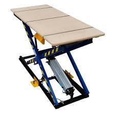 scissor st scissor lift table foot operated pneumatic st 3 rexel
