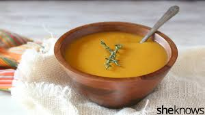 vegan parsnip butternut squash soup is a simple addition to