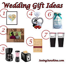 wedding gift ideas for and groom wedding gift ideas seeing