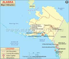 Alaska travel wiki images Maps update 800683 tourist attractions map in alaska places to jpg