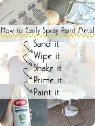How To Decorate My Car Interior Best 25 Spray Paint Metal Ideas On Pinterest Spray Painting