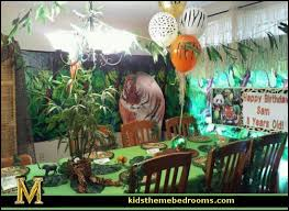 themed party supplies jungle party maries manor party theme decorations party