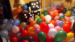 Happy Rooms Happy Birthday In Balloon Room Youtube