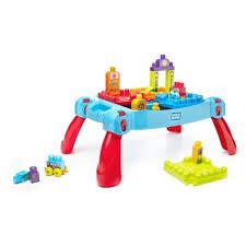 my first mega bloks table mega bloks build n learn table blue target