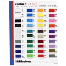 enduravinyl enduragloss enduramatte endura holographics and