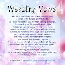 Wedding Ceremony Quotes Romantic Wedding Vows Examples For Her And For Him Wedding Vows
