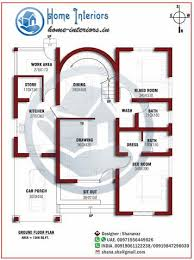 Home Design Plans Ground Floor 1200 Sq Ft Single Floor Home Design Download Floor Plan