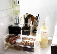 Bathroom Counter Organizers Bathroom Counter Storage Ideas 18 Savvy Bathroom Vanity Storage