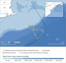 Map Of The Northeast What You Should Know About The Coral Canyons And Seamounts U0026 New