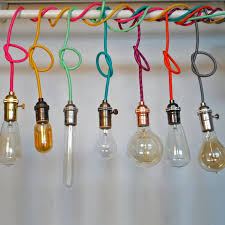 colored necklace cords images Custom color pendant light i light jpg