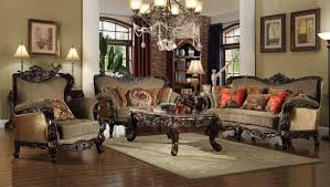 Formal Sofas For Living Room Luxury Formal Living Room Furniture W Carved Wood Hd 481