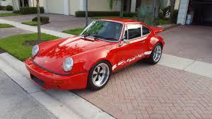 ls1 porsche 911 1986 porsche 911 rsr tribute with renegades hybrid ls conversion