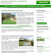Landscapers San Diego by San Diego Commercial Landscaping Affordable Webtraffic