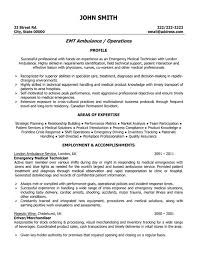 It Technician Resume Sample by Click Here To Download This Emergency Medical Technician Resume