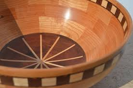 woodturning a segmented fruit bowl youtube
